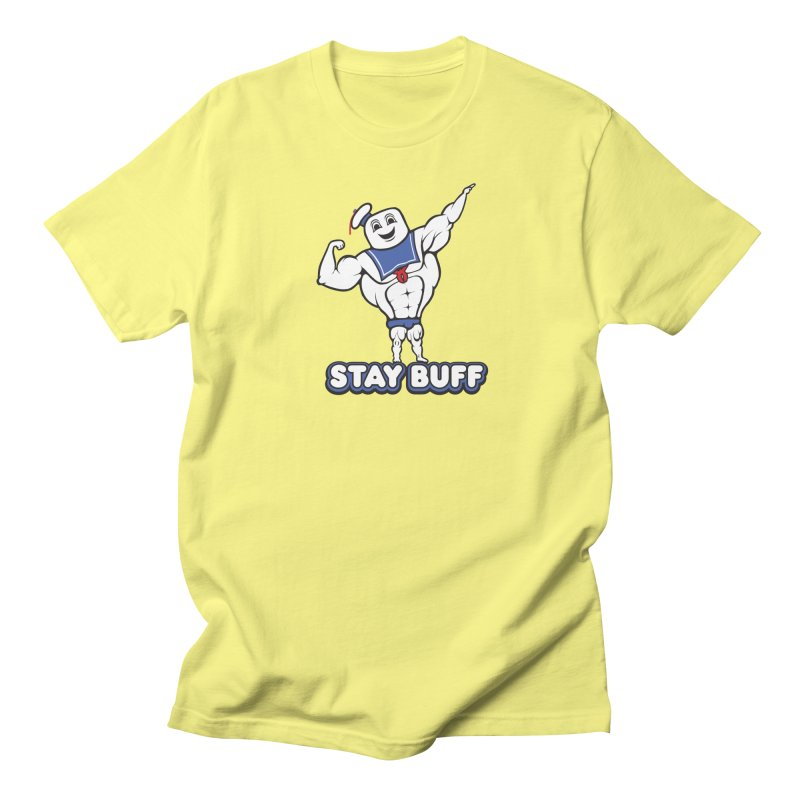 Stay Buff Men's Regular T-Shirt by 9th Mountain Threads