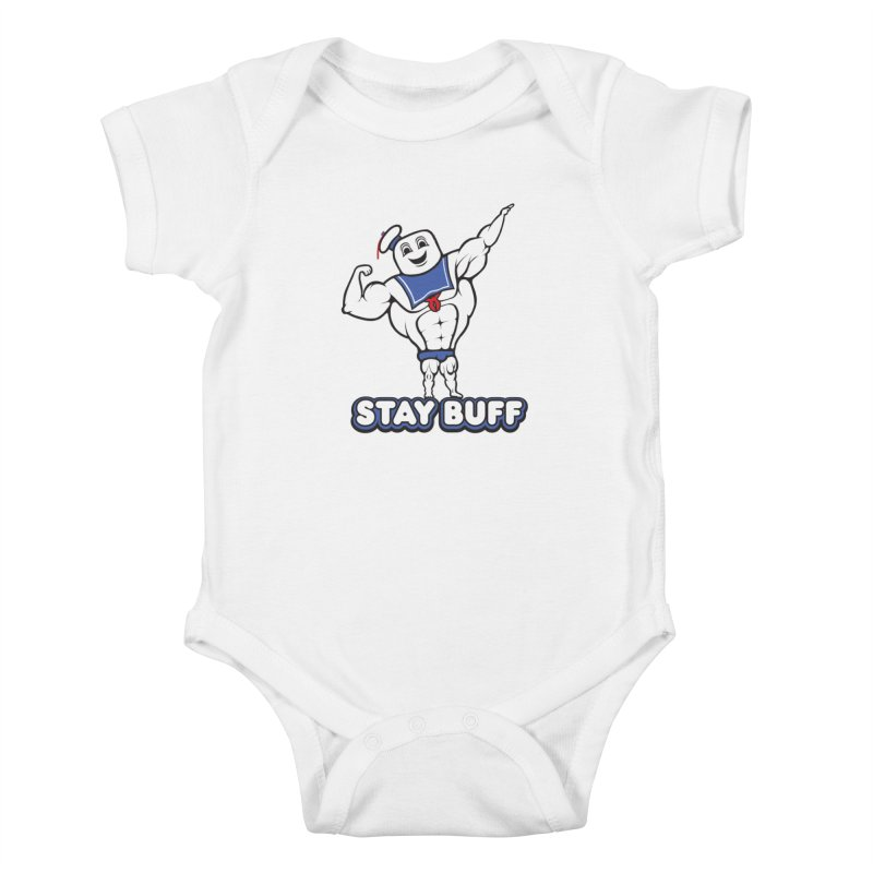 Stay Buff Kids Baby Bodysuit by 9th Mountain Threads