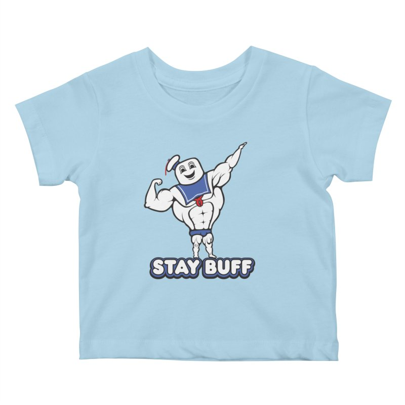 Stay Buff Kids Baby T-Shirt by 9th Mountain Threads