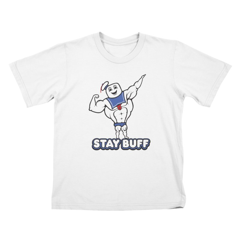 Stay Buff Kids T-Shirt by 9th Mountain Threads