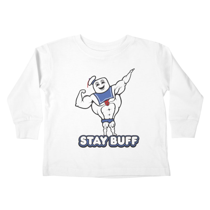 Stay Buff Kids Toddler Longsleeve T-Shirt by 9th Mountain Threads
