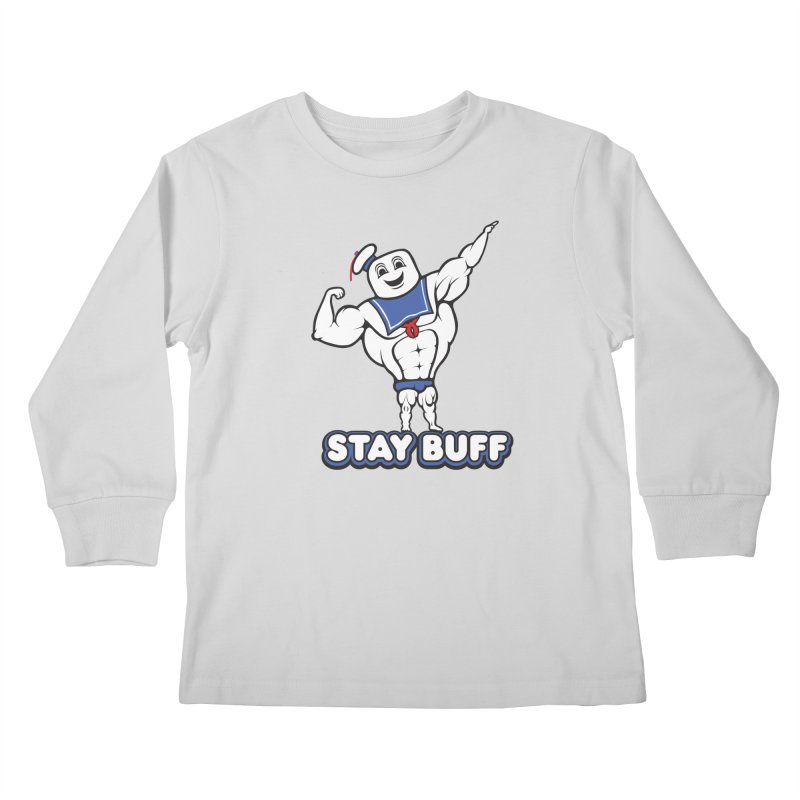 Stay Buff Kids Longsleeve T-Shirt by 9th Mountain Threads