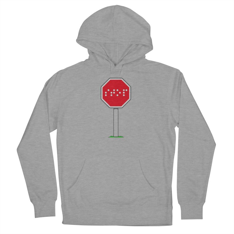 STOP! Men's French Terry Pullover Hoody by 9th Mountain Threads