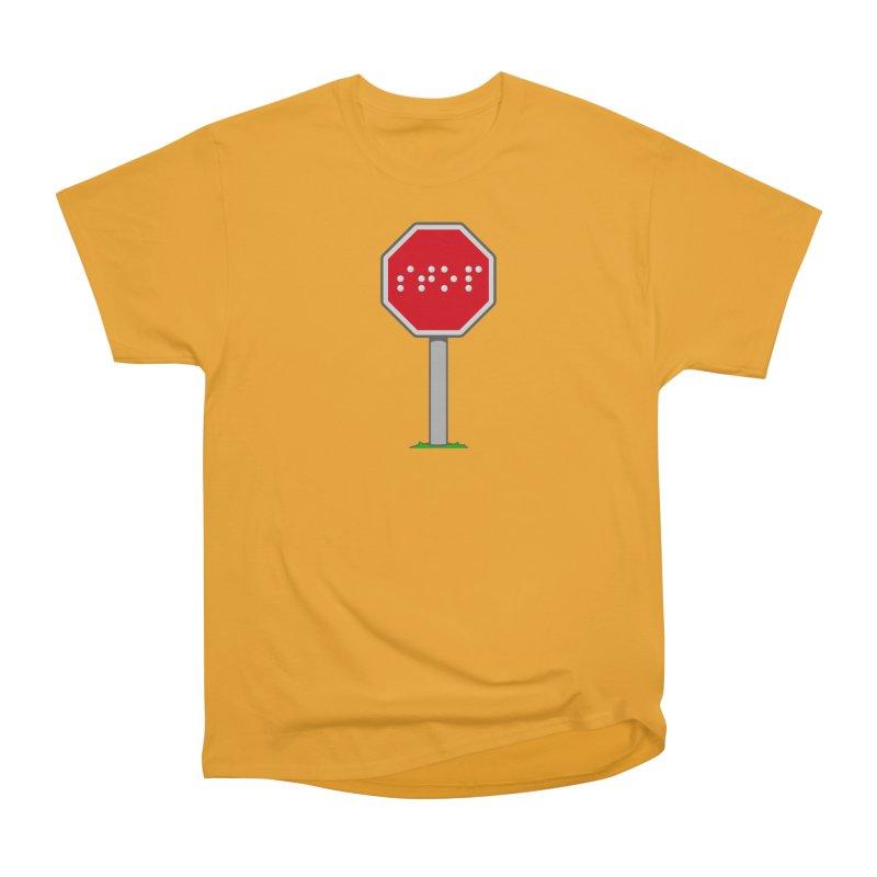 STOP! Women's Heavyweight Unisex T-Shirt by 9th Mountain Threads