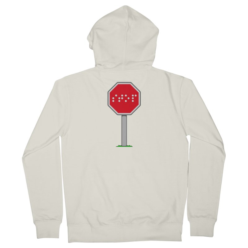 STOP! Men's French Terry Zip-Up Hoody by 9th Mountain Threads