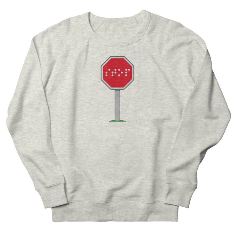 STOP! Women's French Terry Sweatshirt by 9th Mountain Threads