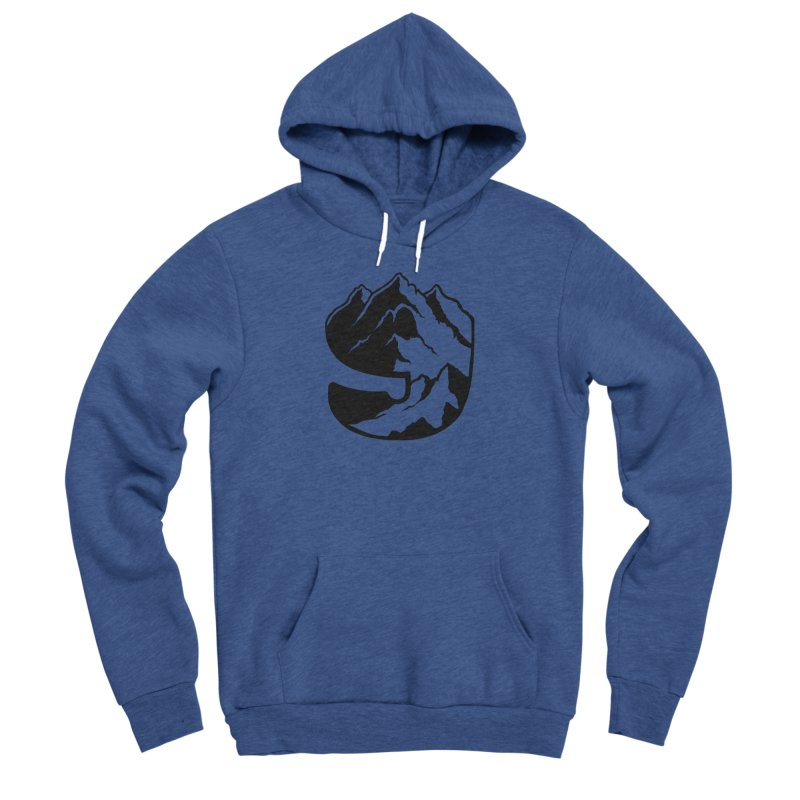 The 9th Mountain Men's Sponge Fleece Pullover Hoody by 9th Mountain Threads