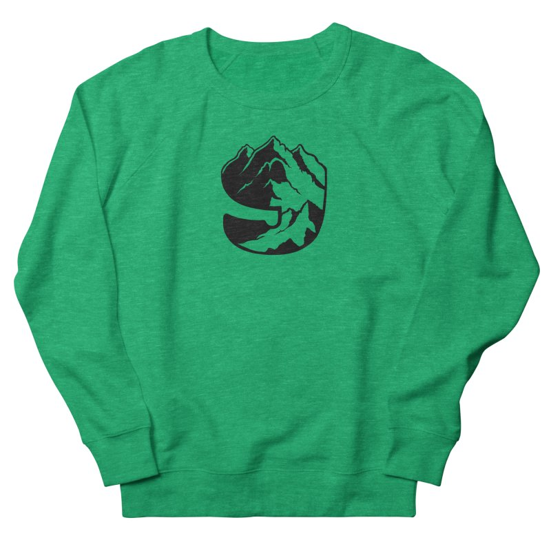 The 9th Mountain Women's French Terry Sweatshirt by 9th Mountain Threads
