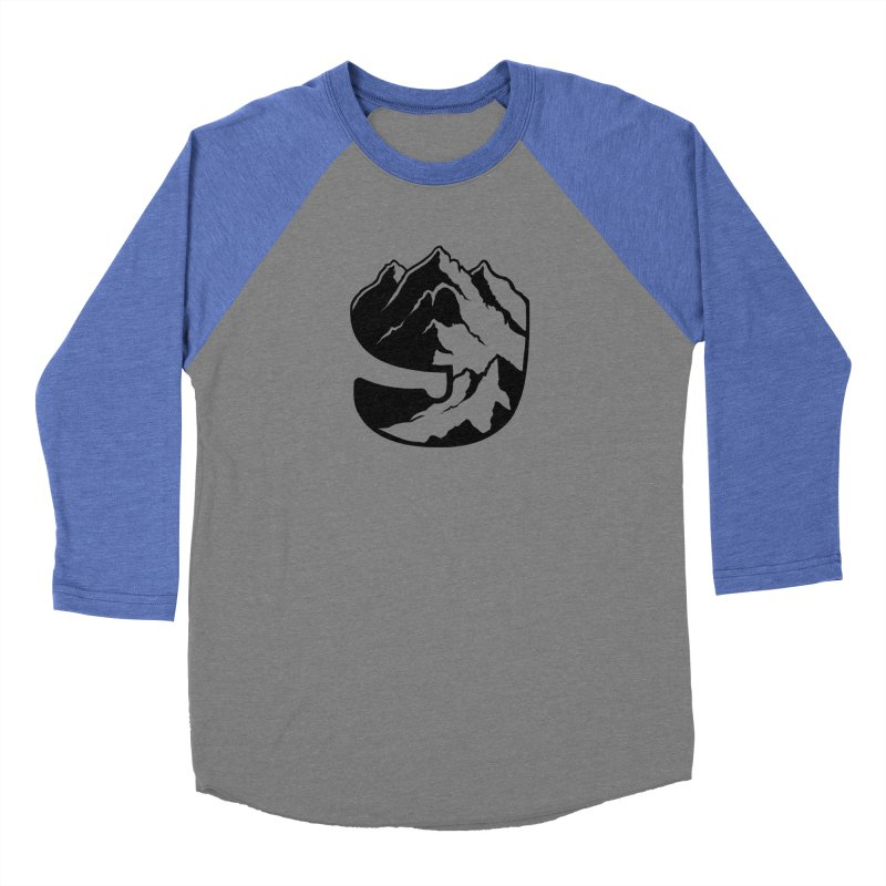 The 9th Mountain Women's Baseball Triblend Longsleeve T-Shirt by 9th Mountain Threads