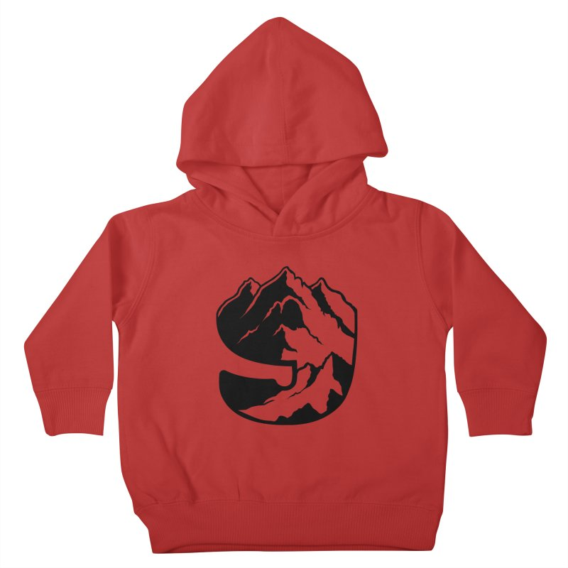 The 9th Mountain Kids Toddler Pullover Hoody by 9th Mountain Threads