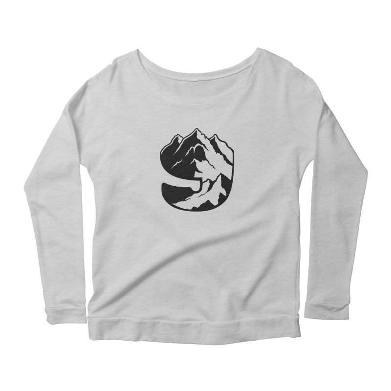The 9th Mountain Women's Scoop Neck Longsleeve T-Shirt by 9th Mountain Threads