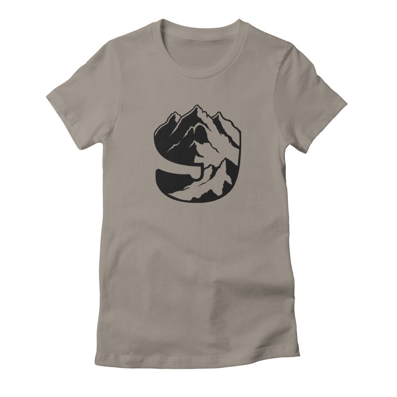The 9th Mountain Women's Fitted T-Shirt by 9th Mountain Threads