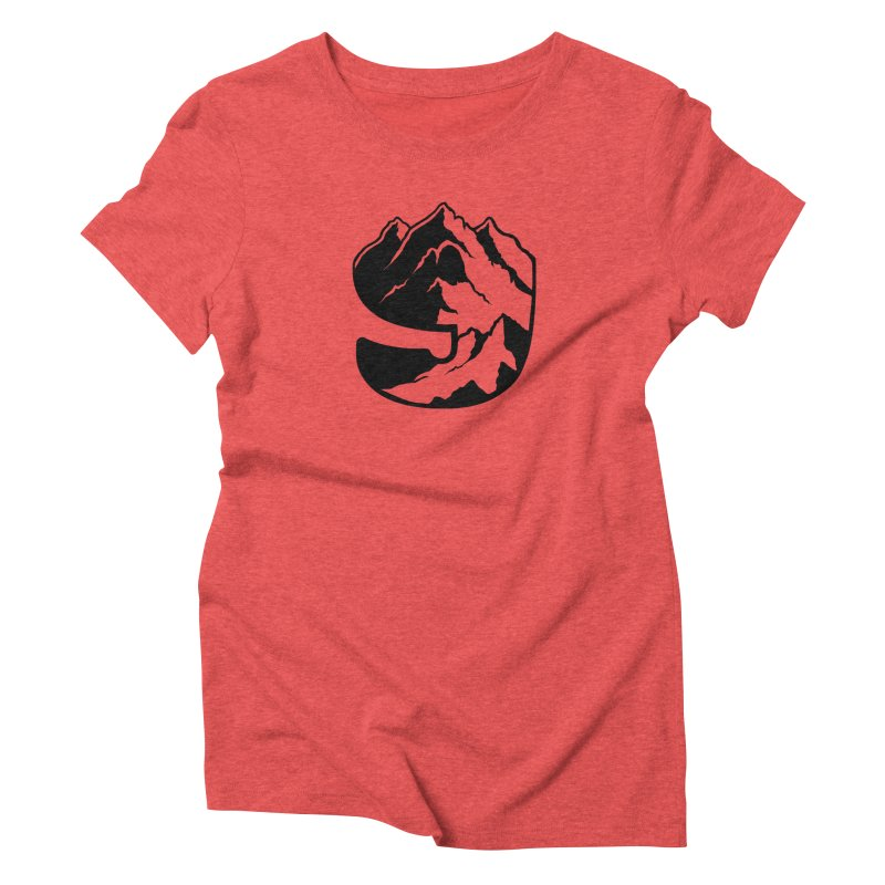 The 9th Mountain Women's Triblend T-Shirt by 9th Mountain Threads