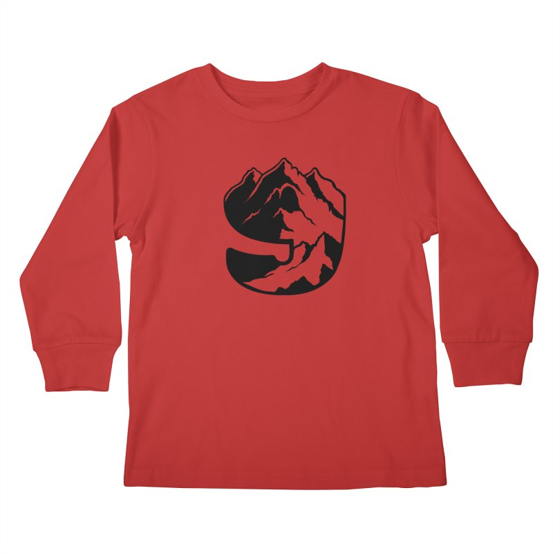 The 9th Mountain Kids Longsleeve T-Shirt by 9th Mountain Threads