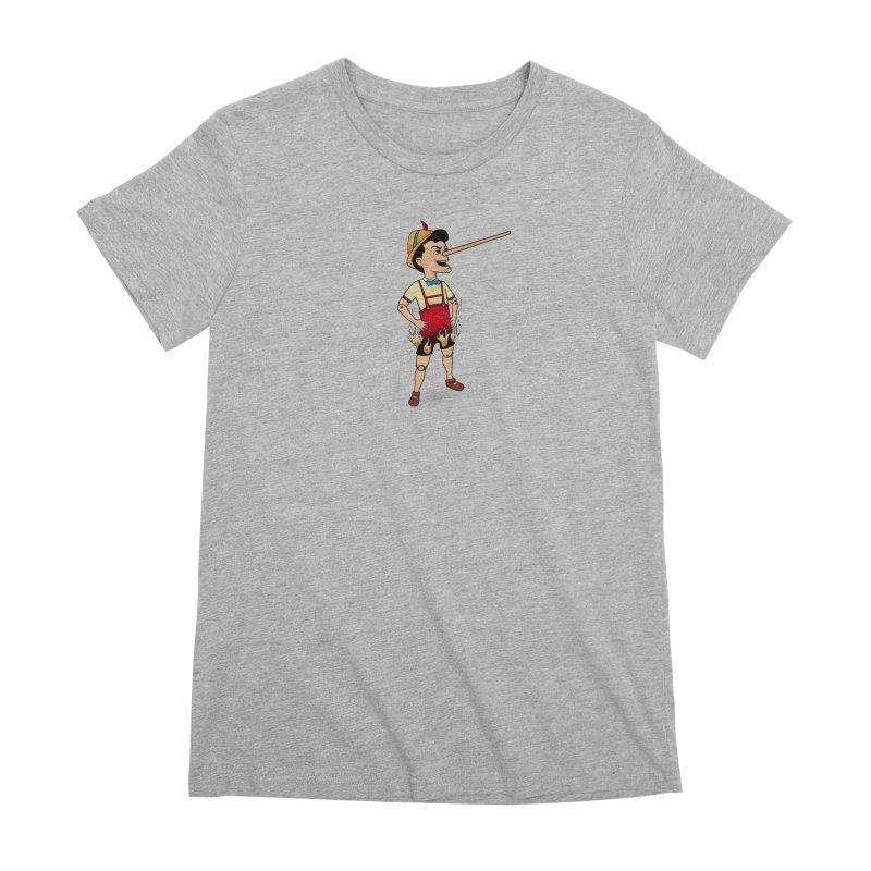 Liar Liar Women's Premium T-Shirt by 9th Mountain Threads