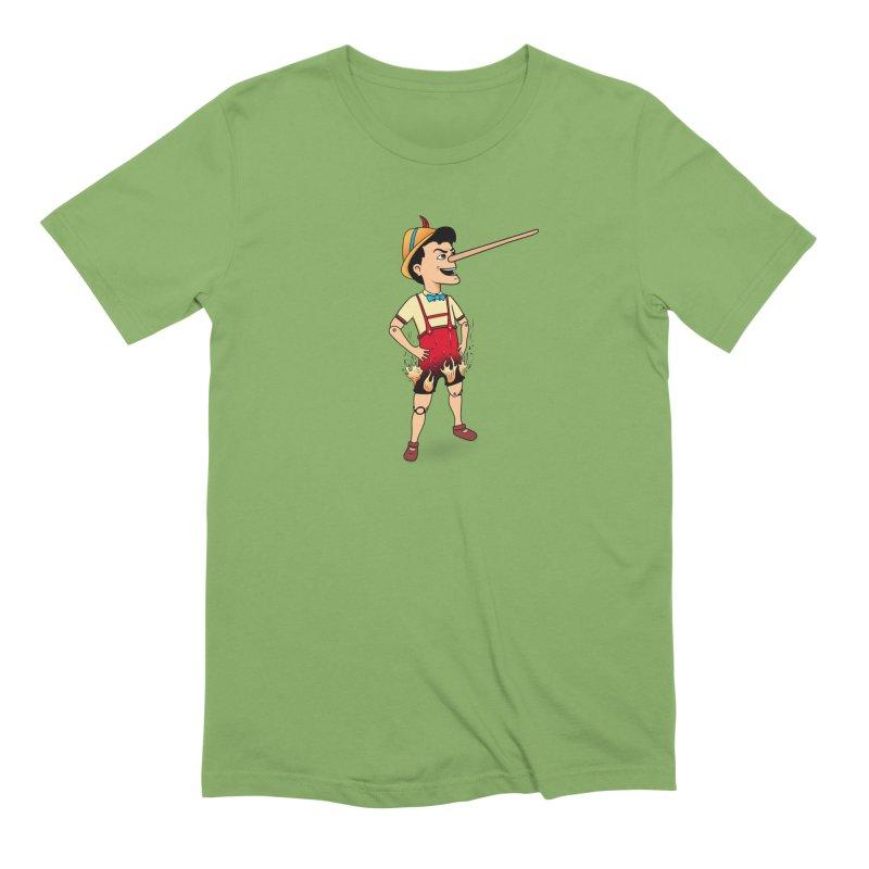 Liar Liar Men's Extra Soft T-Shirt by 9th Mountain Threads