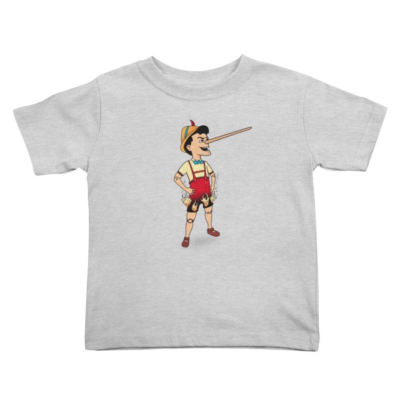 Liar Liar Kids Toddler T-Shirt by 9th Mountain Threads