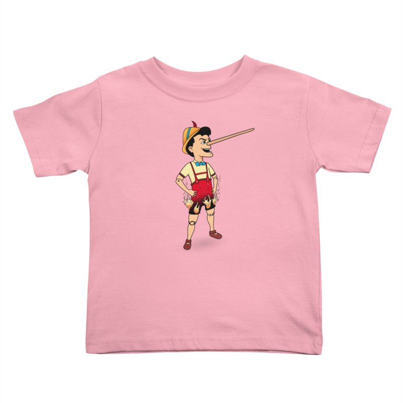 Liar Liar Kids Toddler T-Shirt by 9th Mountain Threads