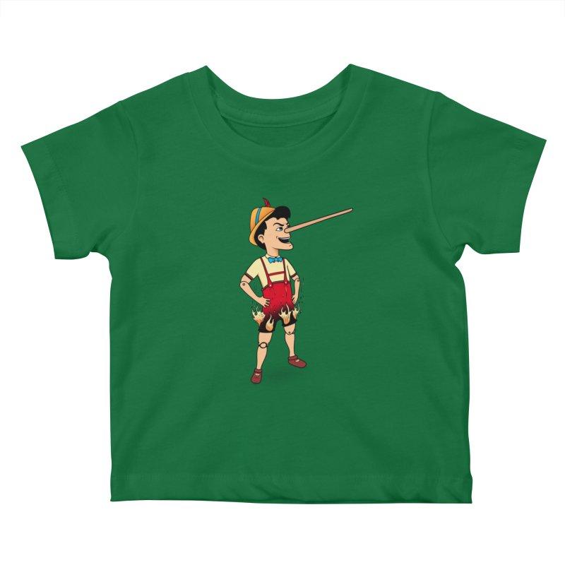 Liar Liar Kids Baby T-Shirt by 9th Mountain Threads
