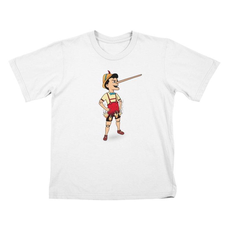 Liar Liar Kids T-Shirt by 9th Mountain Threads