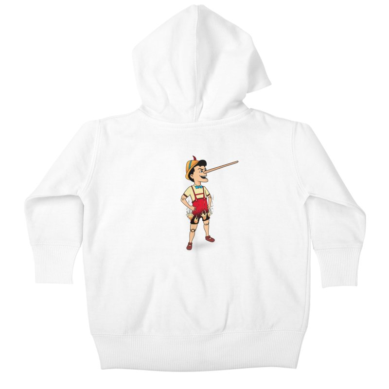 Liar Liar Kids Baby Zip-Up Hoody by 9th Mountain Threads