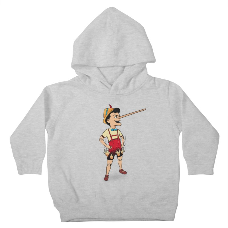 Liar Liar Kids Toddler Pullover Hoody by 9th Mountain Threads