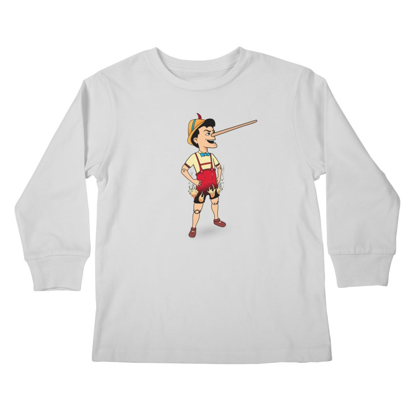 Liar Liar Kids Longsleeve T-Shirt by 9th Mountain Threads