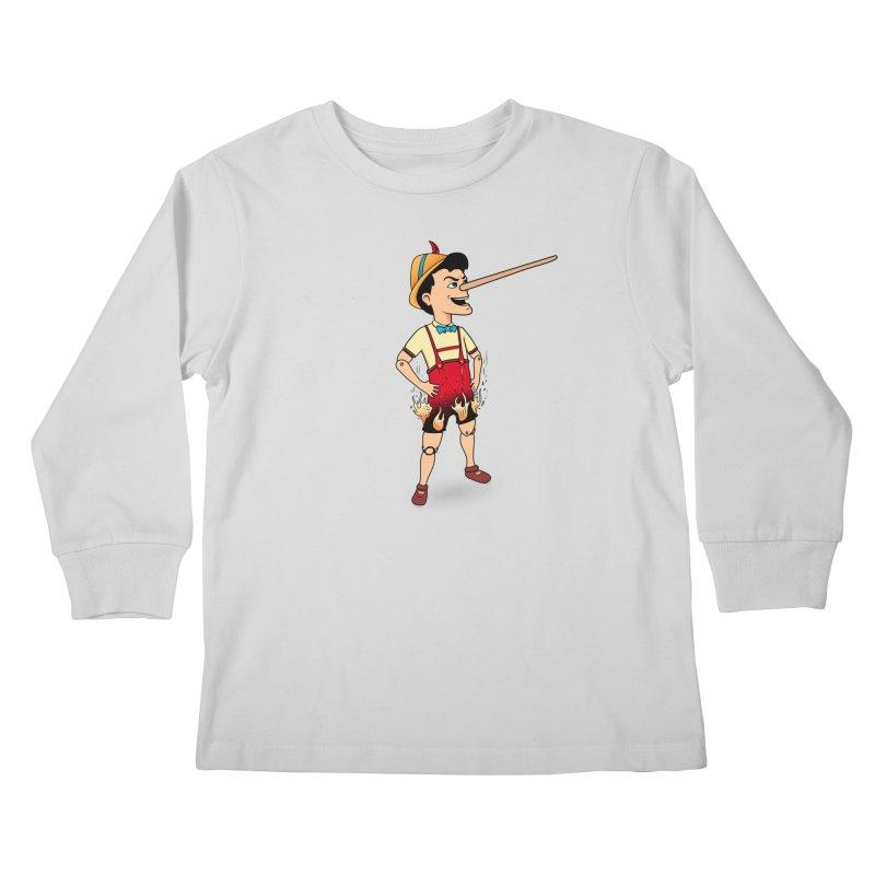 Liar Liar Kids Longsleeve T-Shirt by 9th Mountain Threads