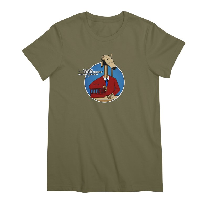Mr. Roger Roger Women's Premium T-Shirt by 9th Mountain Threads