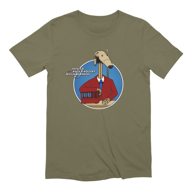 Mr. Roger Roger Men's Extra Soft T-Shirt by 9th Mountain Threads