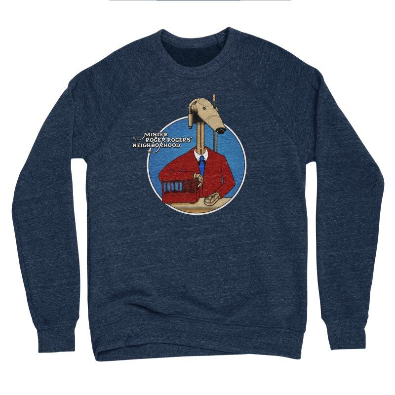 Mr. Roger Roger Men's Sponge Fleece Sweatshirt by 9th Mountain Threads