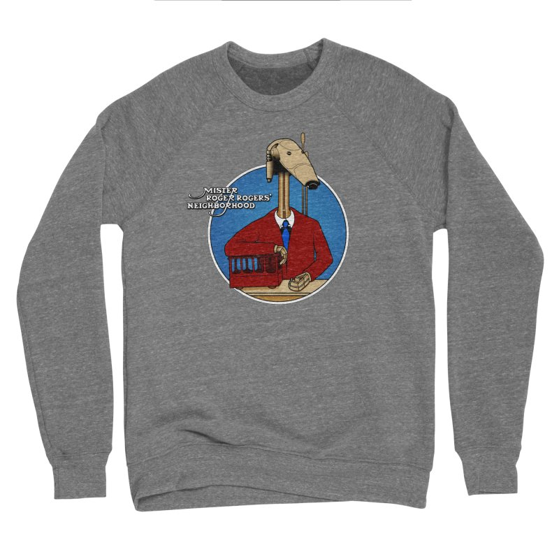 Mr. Roger Roger Women's Sponge Fleece Sweatshirt by 9th Mountain Threads