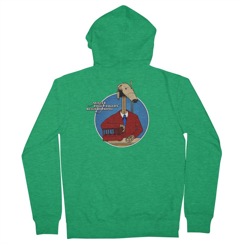 Mr. Roger Roger Women's Zip-Up Hoody by 9th Mountain Threads