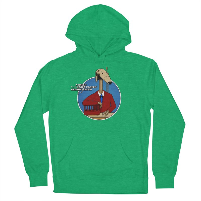 Mr. Roger Roger Men's French Terry Pullover Hoody by 9th Mountain Threads