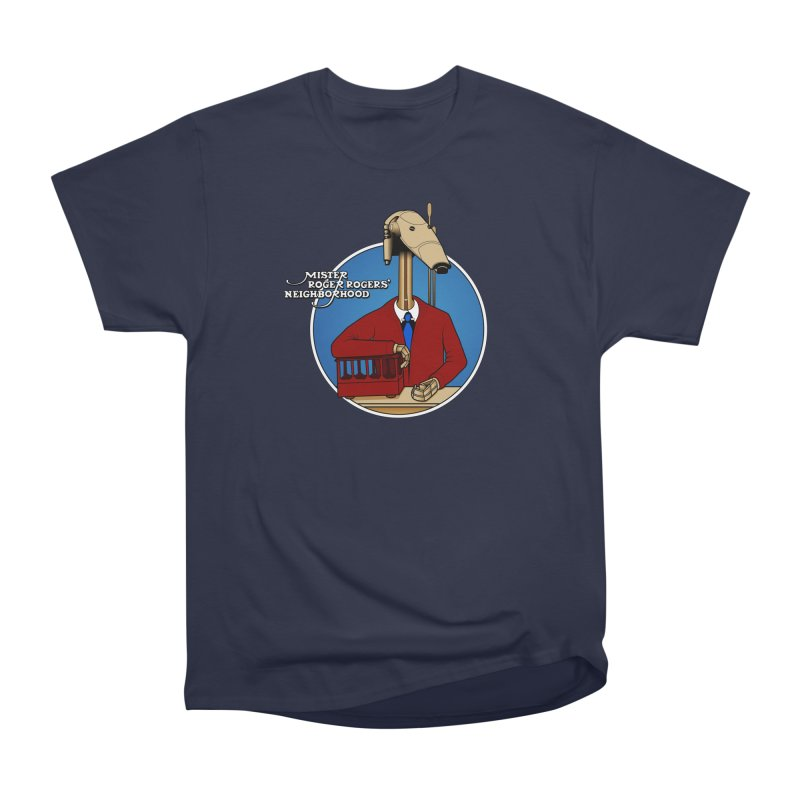 Mr. Roger Roger Men's Heavyweight T-Shirt by 9th Mountain Threads