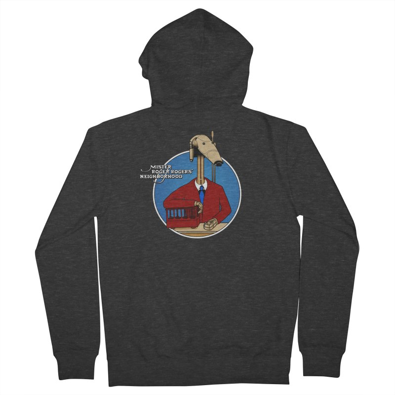 Mr. Roger Roger Men's French Terry Zip-Up Hoody by 9th Mountain Threads