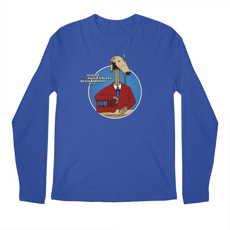 Mr. Roger Roger Men's Regular Longsleeve T-Shirt by 9th Mountain Threads