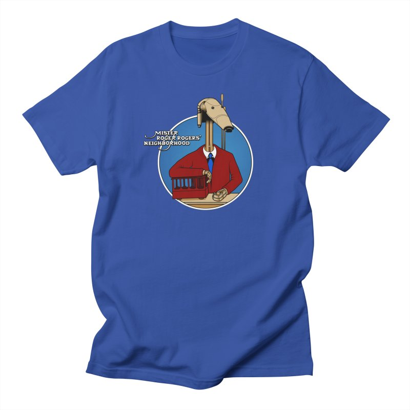 Mr. Roger Roger Women's Regular Unisex T-Shirt by 9th Mountain Threads