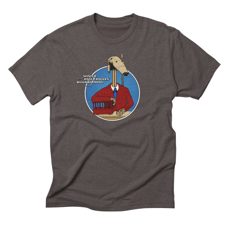Mr. Roger Roger Men's Triblend T-Shirt by 9th Mountain Threads