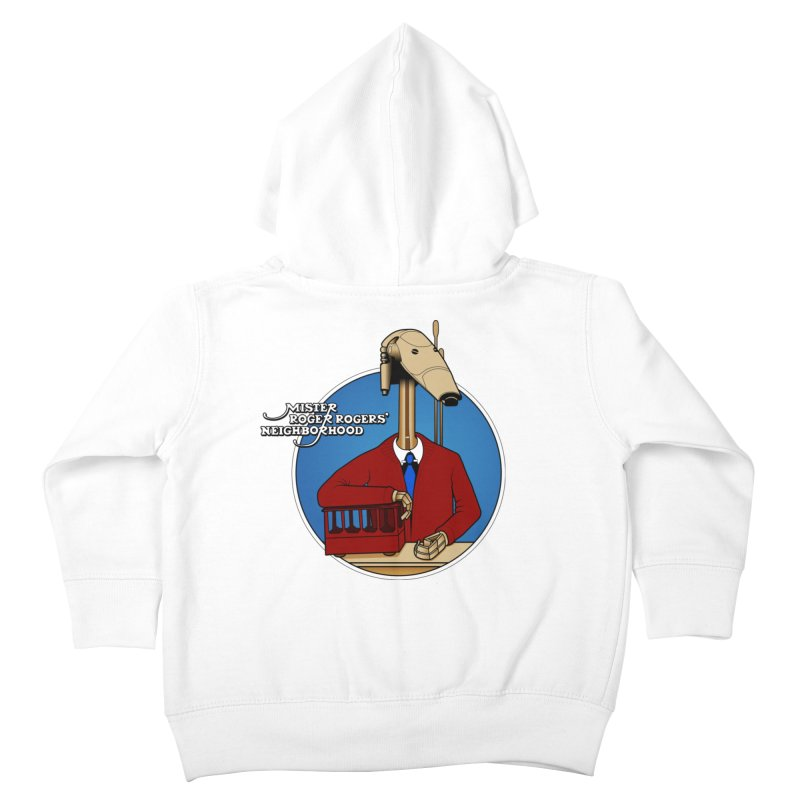 Mr. Roger Roger Kids Toddler Zip-Up Hoody by 9th Mountain Threads
