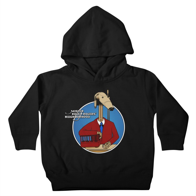 Mr. Roger Roger Kids Toddler Pullover Hoody by 9th Mountain Threads