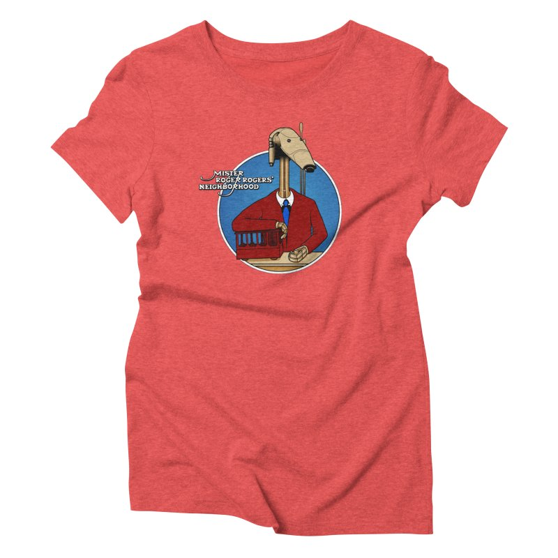 Mr. Roger Roger Women's Triblend T-Shirt by 9th Mountain Threads