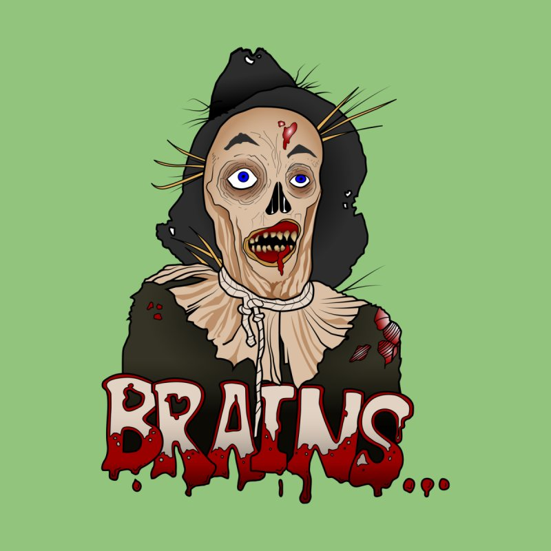 Brains Men's T-Shirt by 9th Mountain Threads