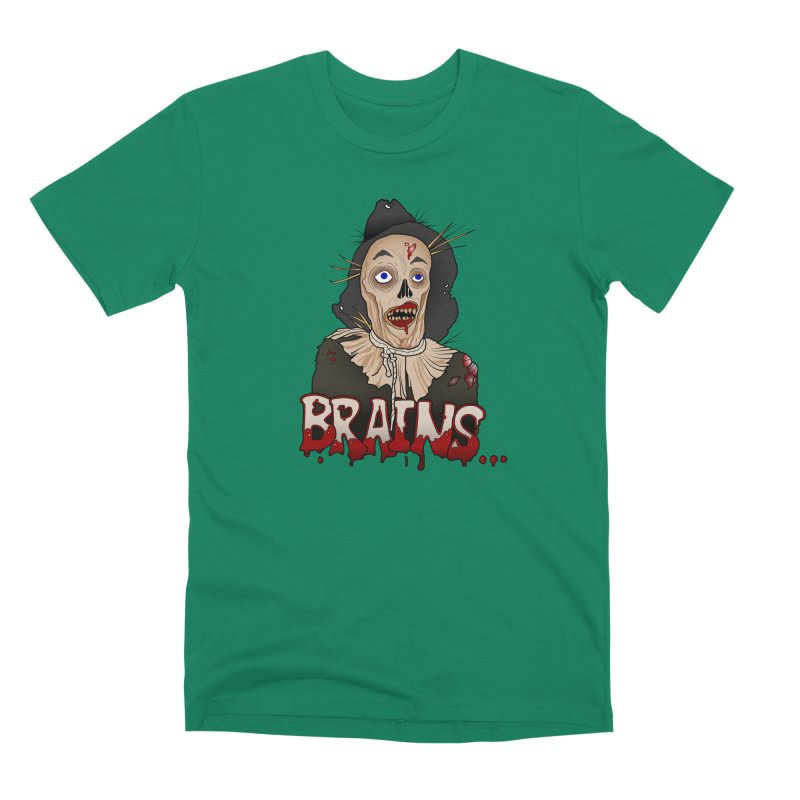 Brains Men's Premium T-Shirt by 9th Mountain Threads