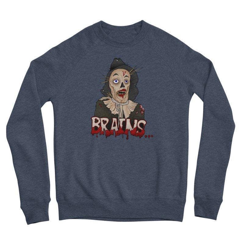 Brains Men's Sponge Fleece Sweatshirt by 9th Mountain Threads