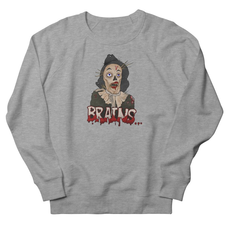 Brains Women's French Terry Sweatshirt by 9th Mountain Threads