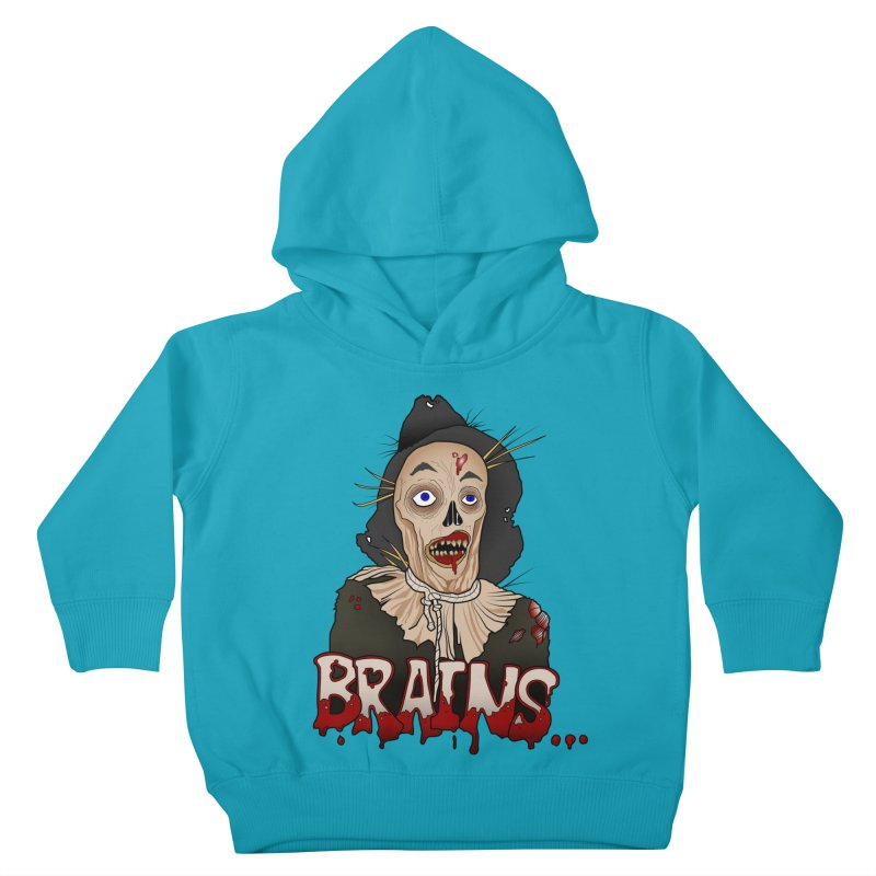 Brains Kids Toddler Pullover Hoody by 9th Mountain Threads