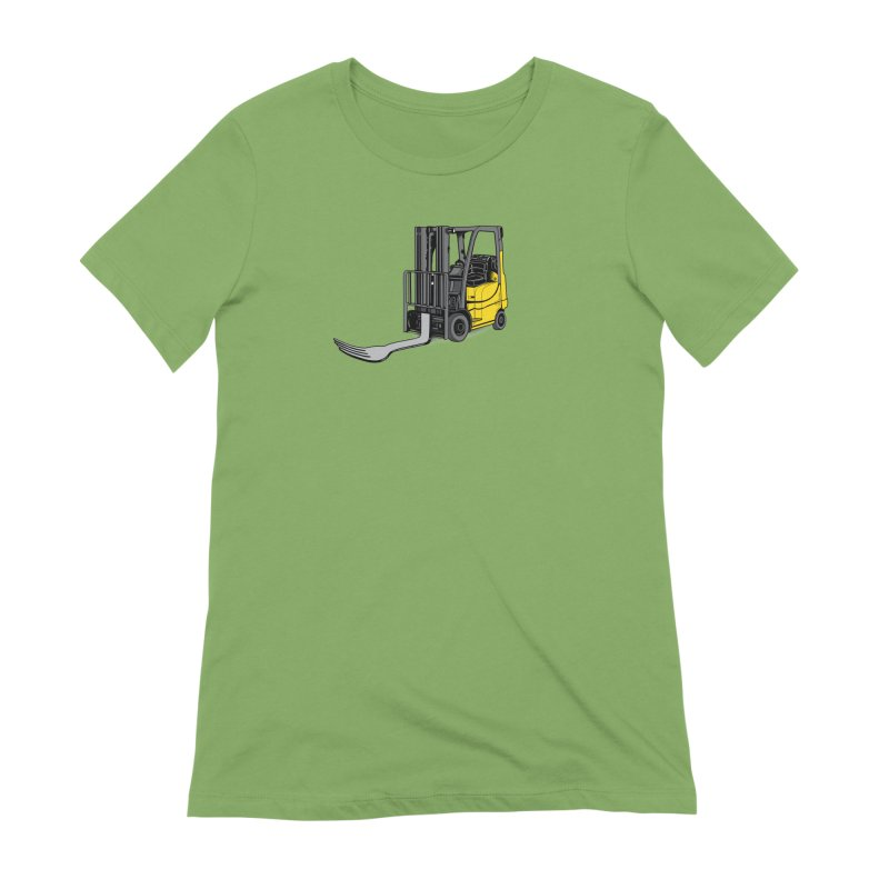 Forklift Women's Extra Soft T-Shirt by 9th Mountain Threads