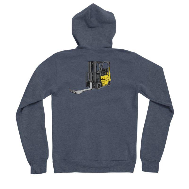 Forklift Women's Sponge Fleece Zip-Up Hoody by 9th Mountain Threads