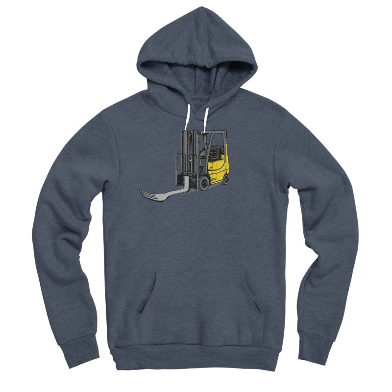 Forklift Men's Sponge Fleece Pullover Hoody by 9th Mountain Threads